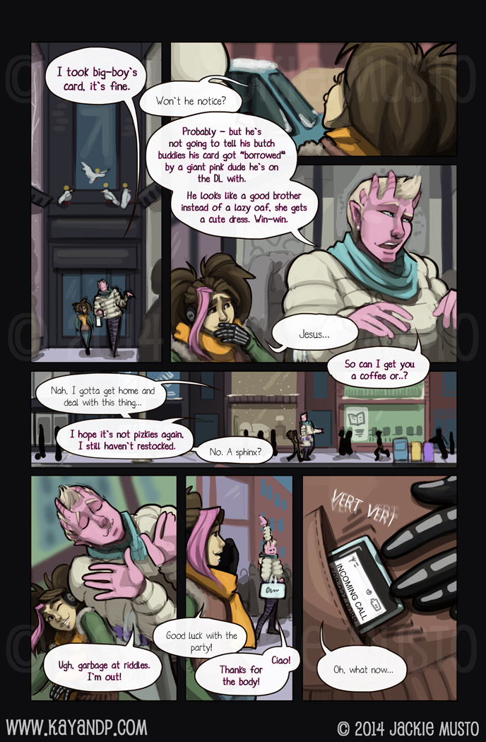 Kay and P: Issue 13, Page 11