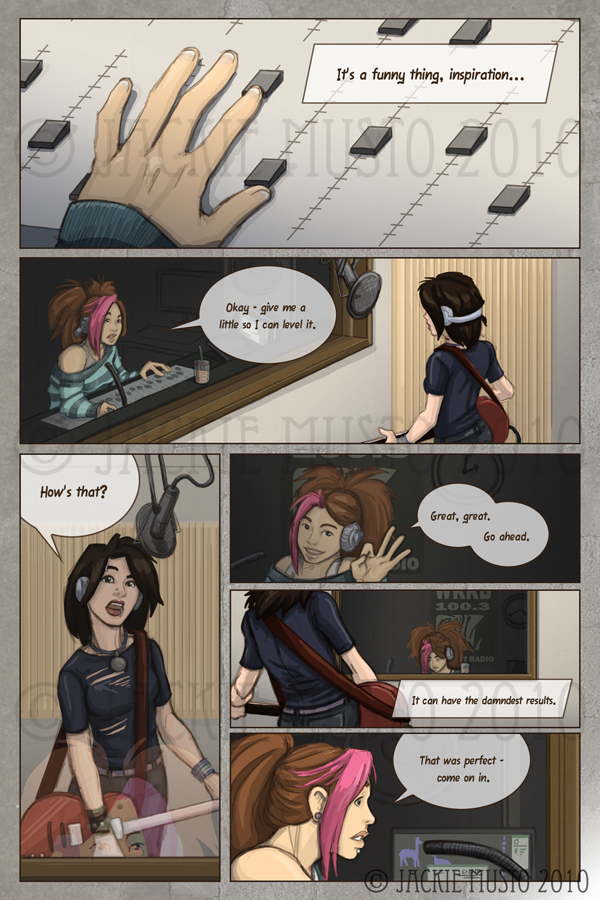 Kay and P: Issue 01, Page 01