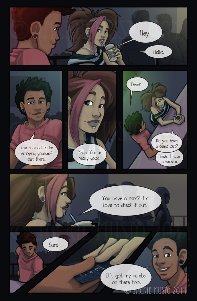 Kay and P: Issue 03, Page 08