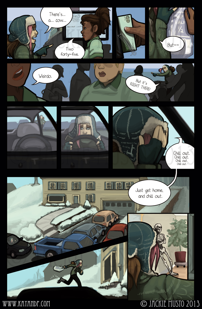 Kay and P: Issue 08, Page 13
