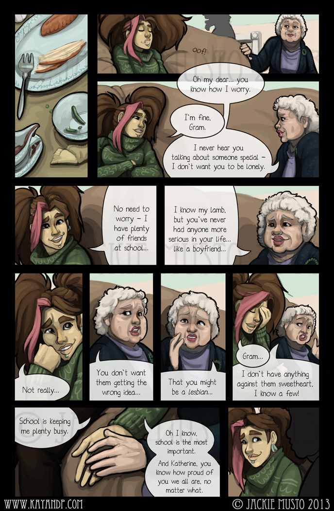 Kay and P: Issue 08, Page 19
