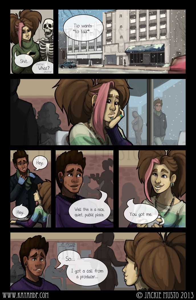 Kay and P: Issue 08, Page 21