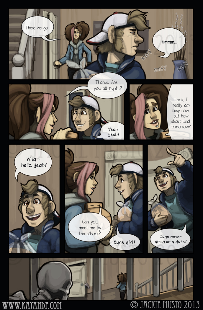 Kay and P: Issue 09, Page 11
