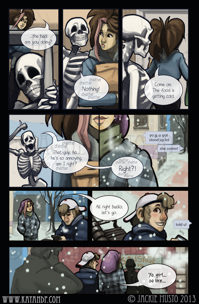 Kay and P: Issue 09, Page 12