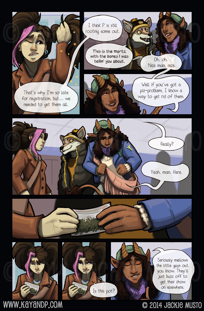 Kay and P: Issue 12, Page 20
