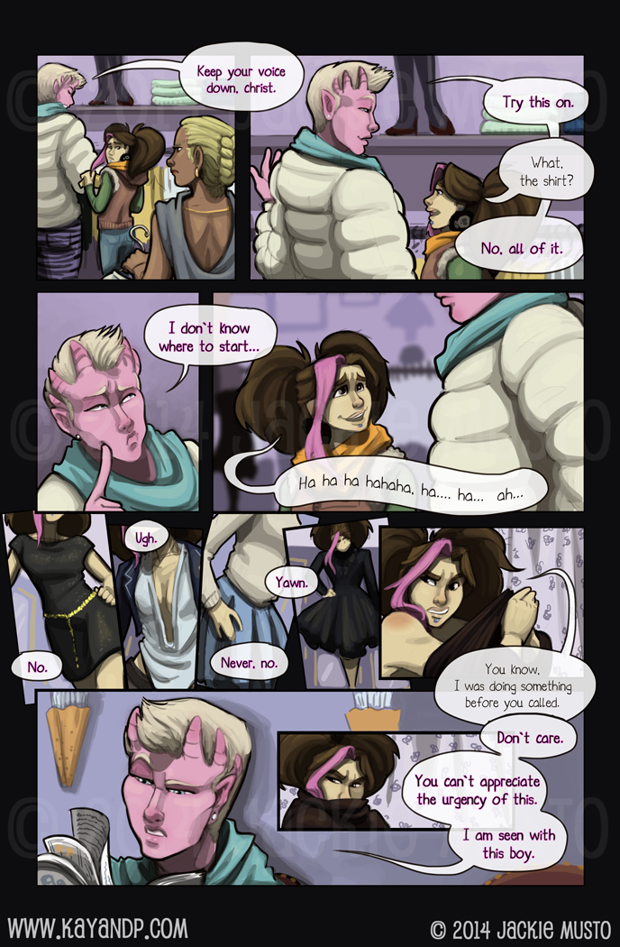 Kay and P: Issue 13, Page 09