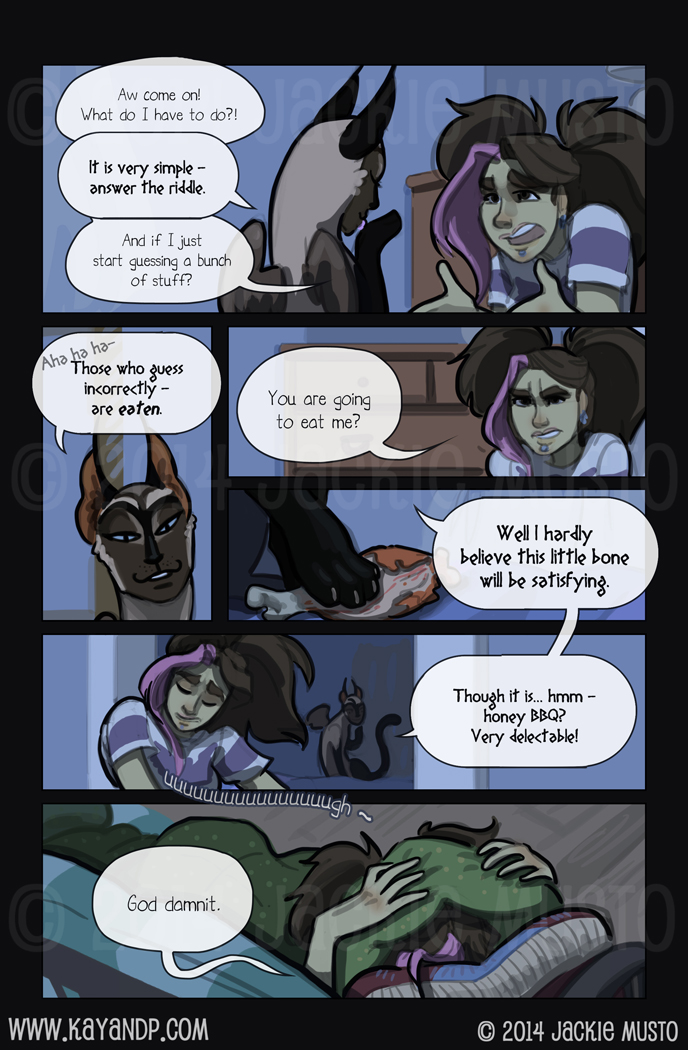 Kay and P: Issue 13, Page 20