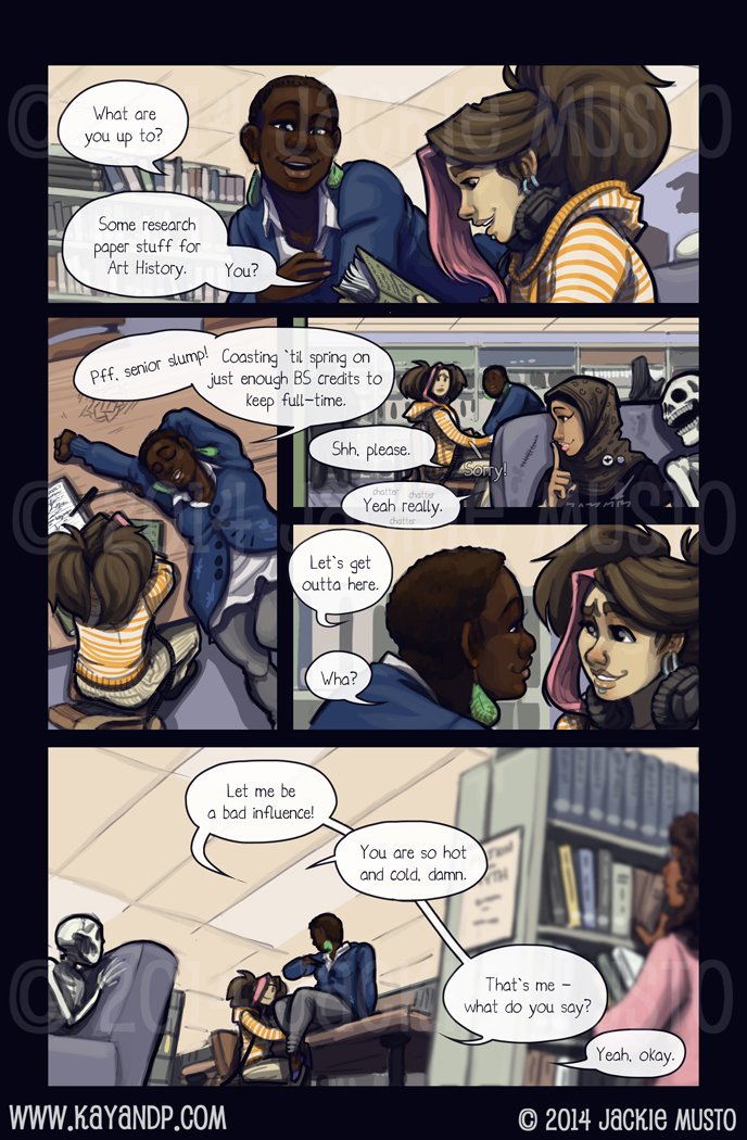 Kay and P: Issue 14, Page 12