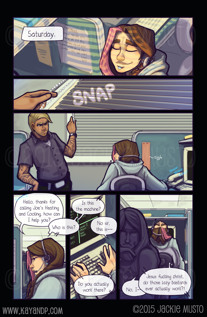 Kay and P: Issue 15, Page 22