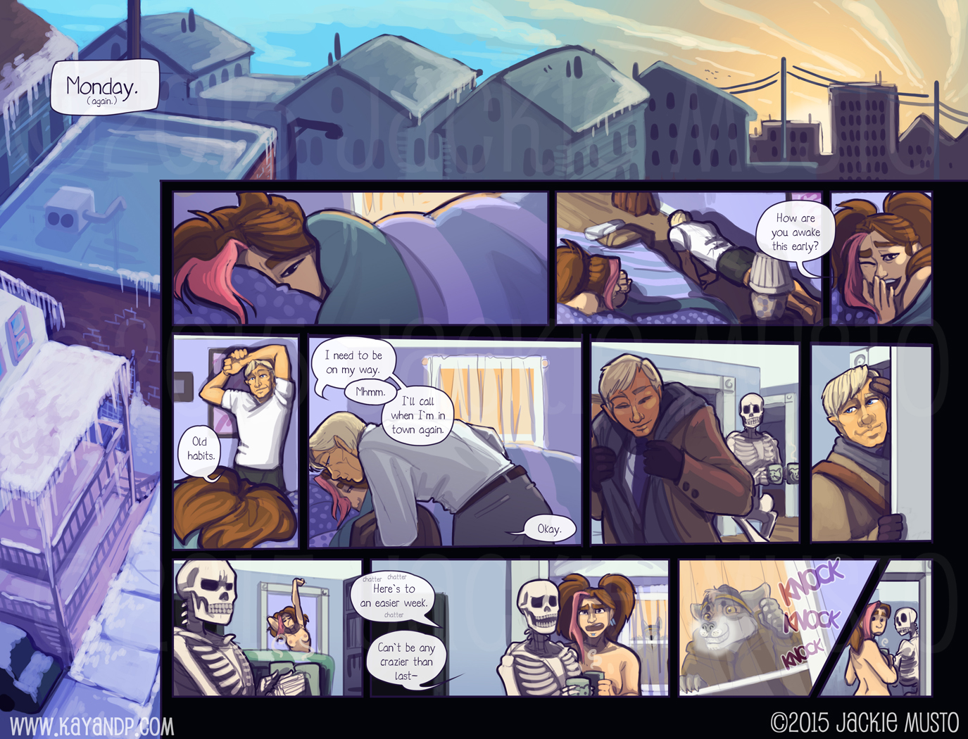 Kay and P: Issue 15, Page 30-31