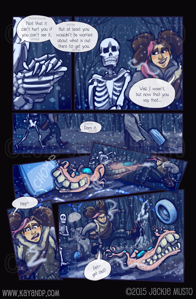 Kay and P: Issue 16, Page 19