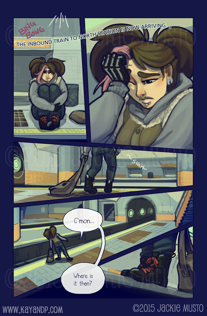 Kay and P: Issue 17, Page 15