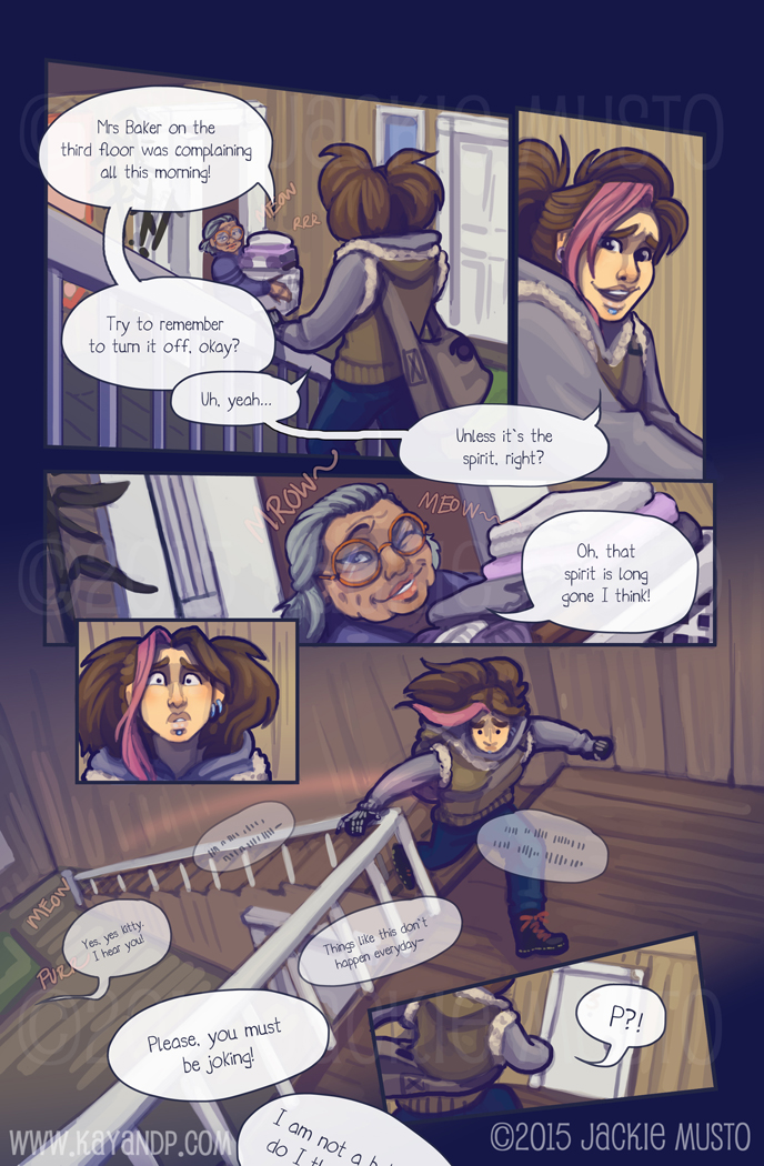 Kay and P: Issue 17, Page 20