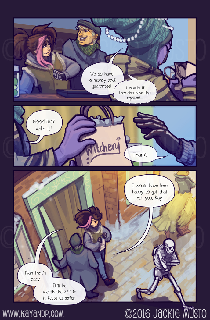 Kay and P: Issue 18, Page 13