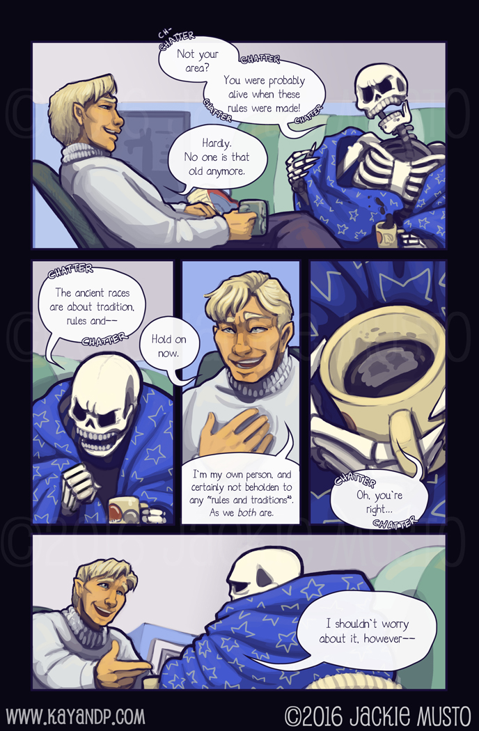 Kay and P: Issue 20, Page 12