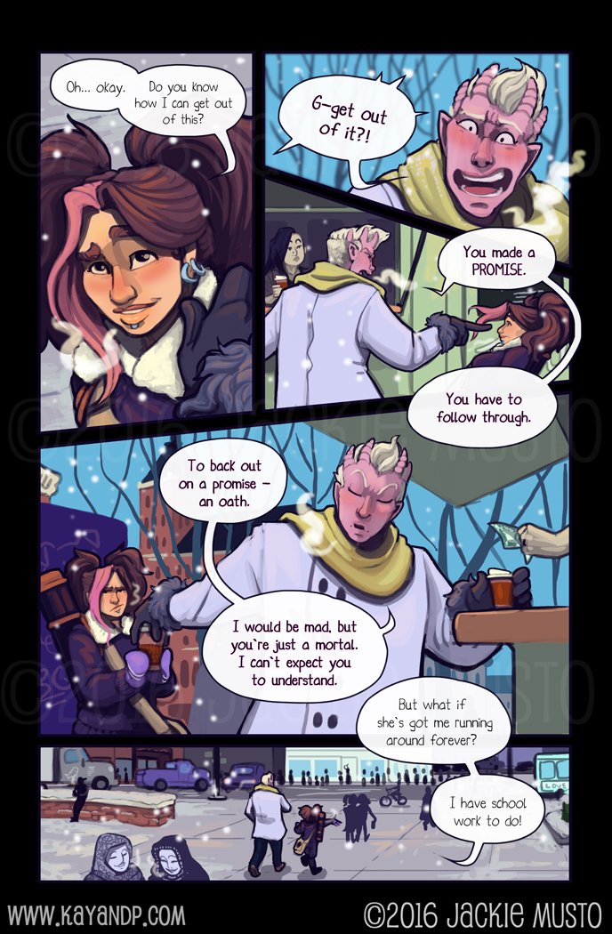 Kay and P: Issue 20, Page 14