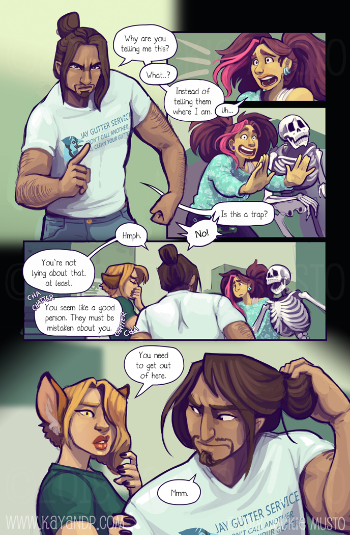 Kay and P: Issue 24, Page 17