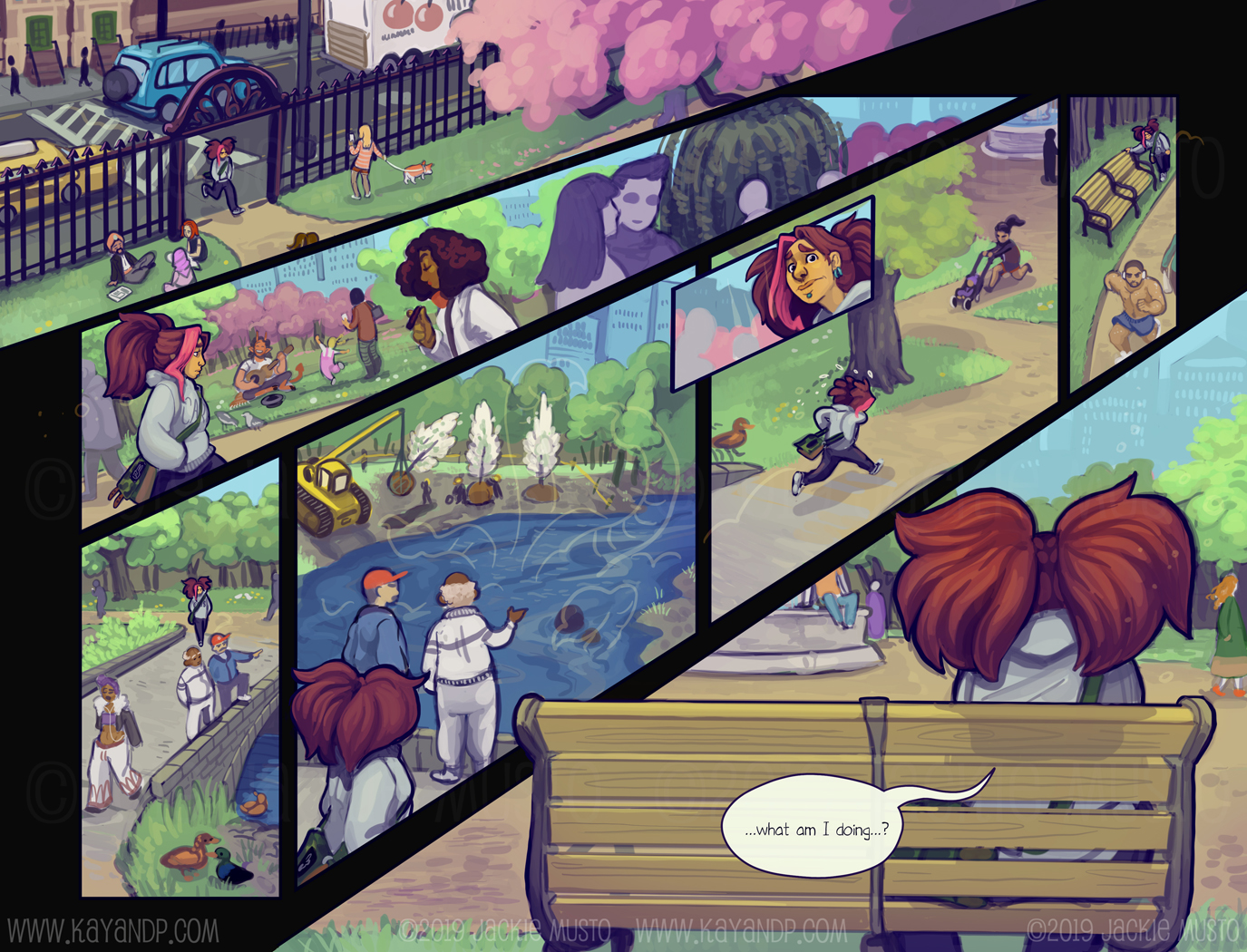 Kay and P: Issue 25, Page 18-19