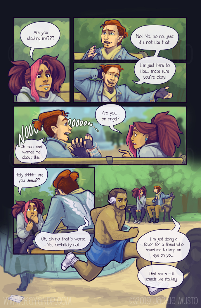 Kay and P: Issue 25, Page 21