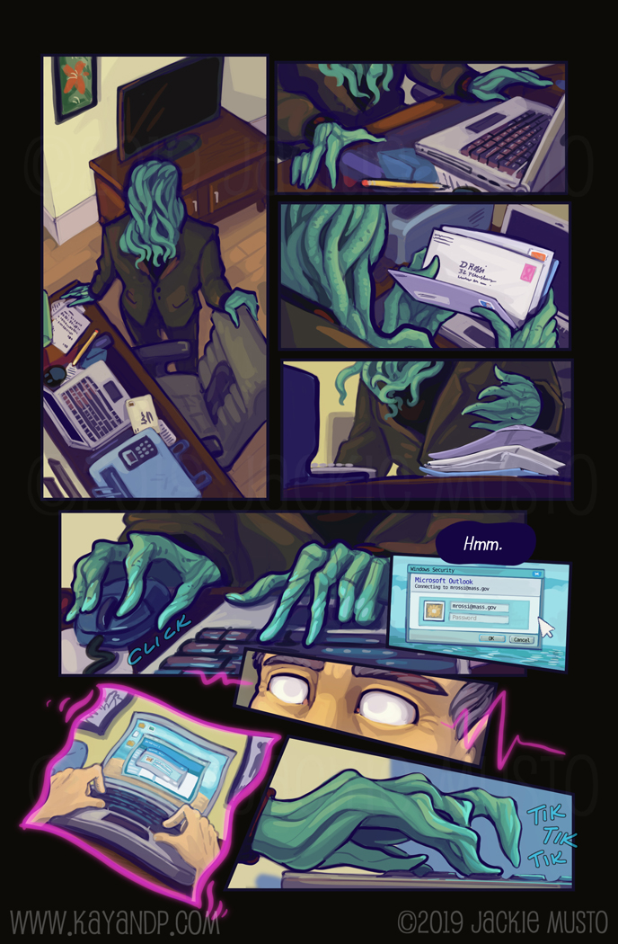 Kay and P: Issue 26, Page 20